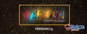 AE插件 图层纹理贴图映射制作PATTOON v1.5.1 Win/Mac + 使用教程