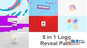 AE模板 商业公司3D徽标标识动画揭示 Logo Reveal Pack