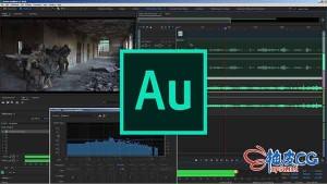 Audition电影纪录片访谈和短片的声音后期制作视频教程