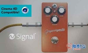 C4D R23灰猩猩GSG复杂动画制作插件Greyscale Gorilla GSG Signal WIN / MAC