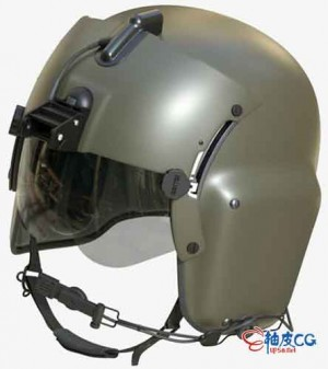 C4D Gentex HGU-56 / P头盔3D模型