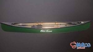 3DSMAX经典独木舟赛车3D模型