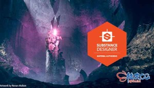 纹理贴图绘制软件Allegorithmic Substance Designer 11.1.1.4541 (Win)直装版