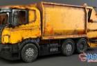 3DSMAX垃圾车3D模型