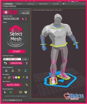 3DSMAX模型骨骼插件IKMAX v1.5 3DSMAX 2020 -2021