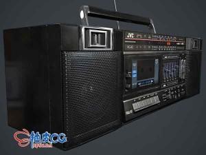 3DSMAX磁带录音机3D模型