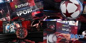 AE模板 史诗级体育栏目包装宣传介绍视频 Sport Action