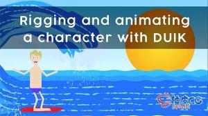 AE角色绑定及动画效果设置视频教程