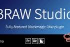 AE/PR/AME导入Blackmagic RAW素材插件 BRAW Studio V2.3.0 WIN破解版 + 视频教程