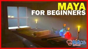 Maya基础入门培训指南视频教程