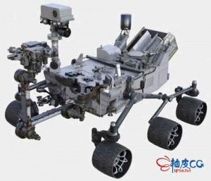 3DSMAX好奇号NASA漫游者3D空间探测器3D模型