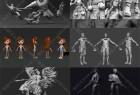 ZBrush 2020数字雕刻高精度3D模型视频教程