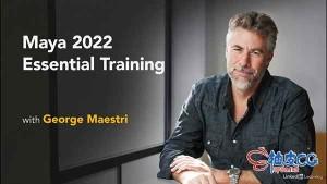 Maya 2022基础技术训练视频教程