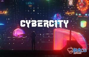 未来科幻音乐视频商业广告全息动画4K高清视频素材