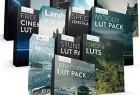 电影LUTs调色预设和镜头光晕完整制作包