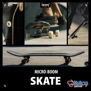 327种公园氛围滑冰滑板运动wav高品质无损音效素材