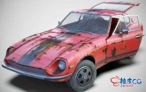 3DSMAX旧汽车3D模型素材