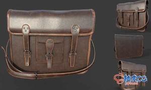 3DSMAX皮包3D模型素材