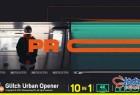 AE模板 公司商业广告市场营销动态演示 Glitch Urban Opener