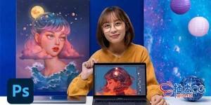 Photoshop创建数码肖像幻想叙事视频教程