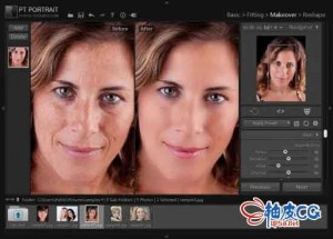 终极人物肖像修饰软件PT Portrait Studio 5.1.0.0多语言破解版
