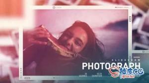 AE模板 波西米亚复古浪漫风格照片相册幻灯展示 Photo Slideshow