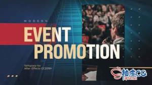 AE模板 现代Instagram营销活动海报排版推广片头 Modern Event Typography Promotion