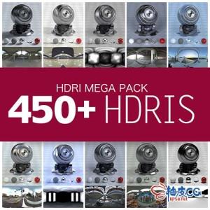 C4D灰猩猩HDR贴图工具及450张HDR高动态范围图像