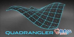 Cinema 4d三角面重建四边面插件Quadrangler v1.0 iND