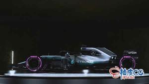 Keyshot制作W09 F1 Mercedes (2018)酷炫跑车效果图视频教程