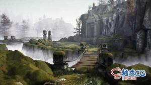 Maya / UE4创建逼真幻想游戏环境视频教程