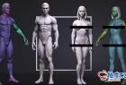 ZTL / OBJ亚当和夏娃高精度3D模型