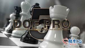 Photoshop逼真的景深效果滤镜DoF Pro v5.1 For Adobe Photoshop + 视频教程