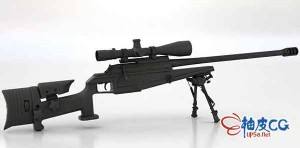 3DSMAX德国布莱瑟尔狙击步枪3D模型