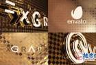 AE模板 史诗级豪华电影3D金色徽标介绍 Black&White Gold Logo Opener