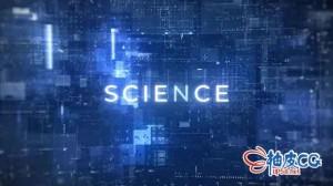 AE模板 科幻数字快速介绍预告片头视频 Fast Digital Intro