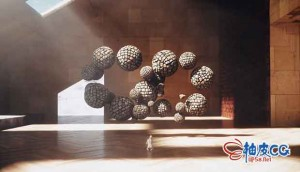 AE & C4D三维模型和虚拟场景合成技术视频教程