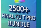 FCPX插件 2500+影视级视频转场标题样式LUT调色预设音效素材捆绑包