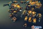Unity轻型中型机甲车辆模型动画资源素材包