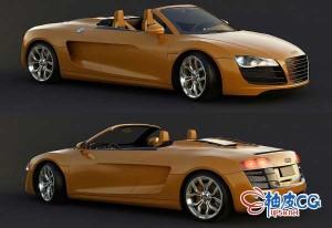35个3DSMAX / VRay汽车高品质3D模型