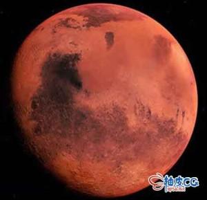 火星自转运动高清视频素材