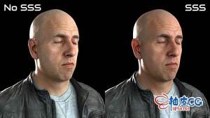 3DS Max & Octane渲染制作真实的人类皮肤视频课程