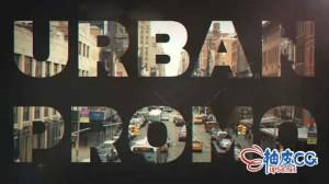 AE模板 城市时尚摇滚嘻哈说唱风格视频 Hip Hop Urban Opener