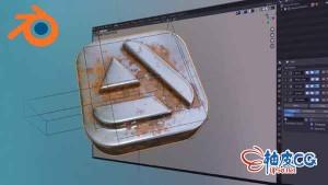 Blender游戏艺术建模材质入门视频教程