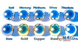 C4D创建金属材质高级指南视频教程