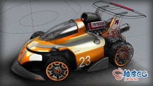 Rhino玩具车3D打印模型全面建模视频课程