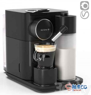 3DMAX / Corona浓缩咖啡机3D模型
