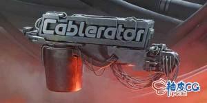 Blender创建编辑悬挂线缆插件Cablerator1.3.0