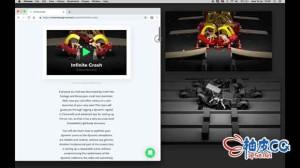 Cinema 4D创建动态碰撞循环动画视频教程