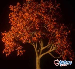 Cinema 4D & Octane制作现实逼真的树木3D模型